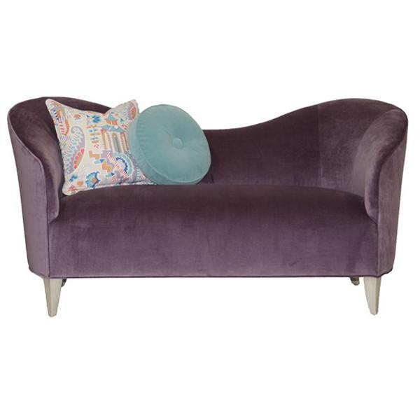 Vanguard Furniture Vera Thistle Bowen Settee