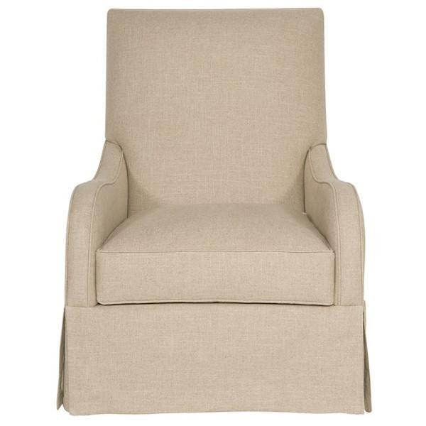 Vanguard Furniture Naylor Natural Zoe Swivel Glider