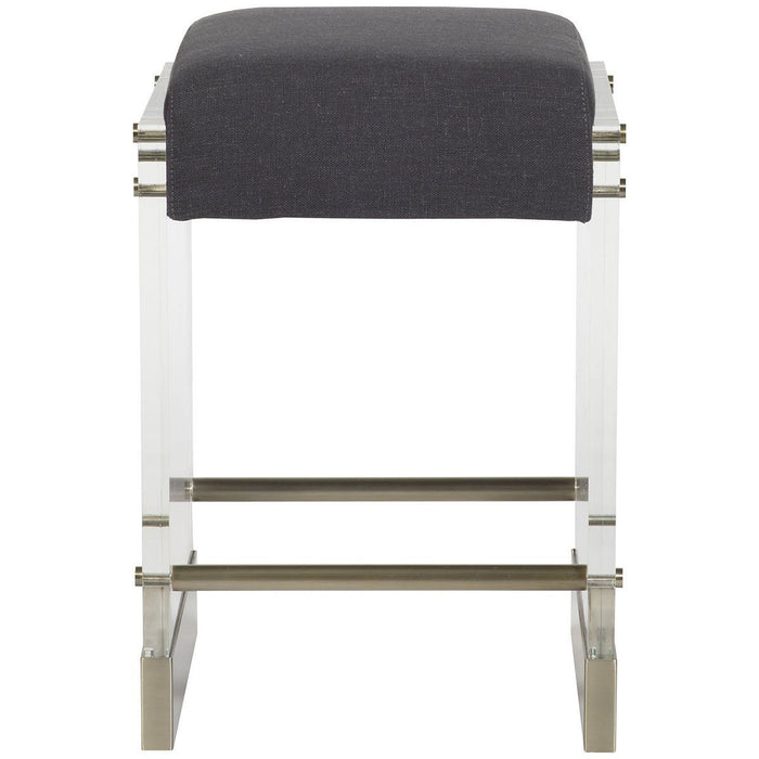 Vanguard Furniture Jake Charcoal Bistro Metal Base Counter Stool