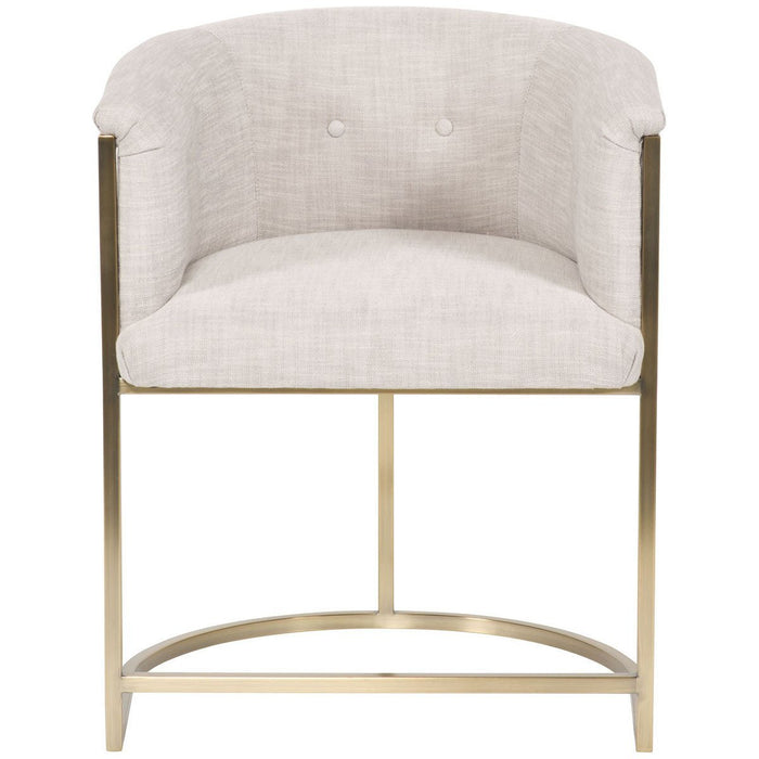 Vanguard Furniture Novum Dove Skye Button Back Chair