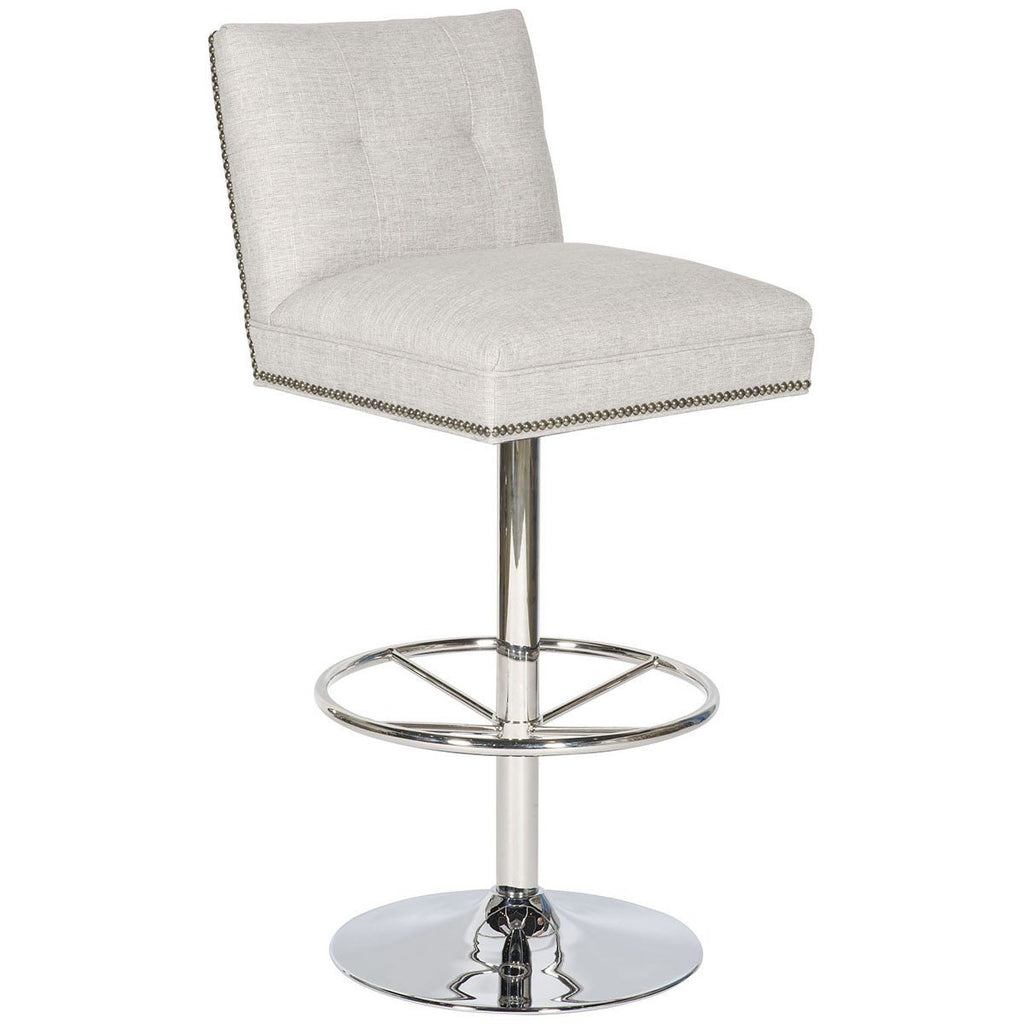Vanguard Furniture Michael Weiss Eagan Bar Stool Fabric