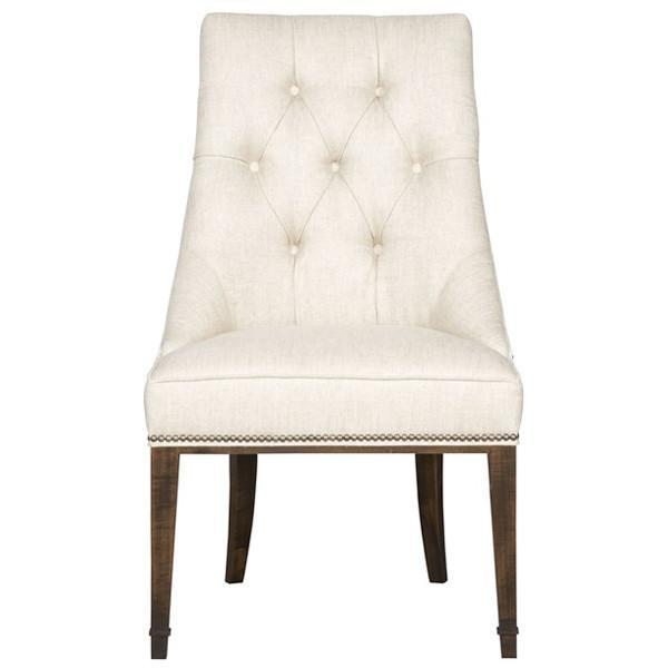 Vanguard Furniture Sussex Brinley Tufted Side Chair