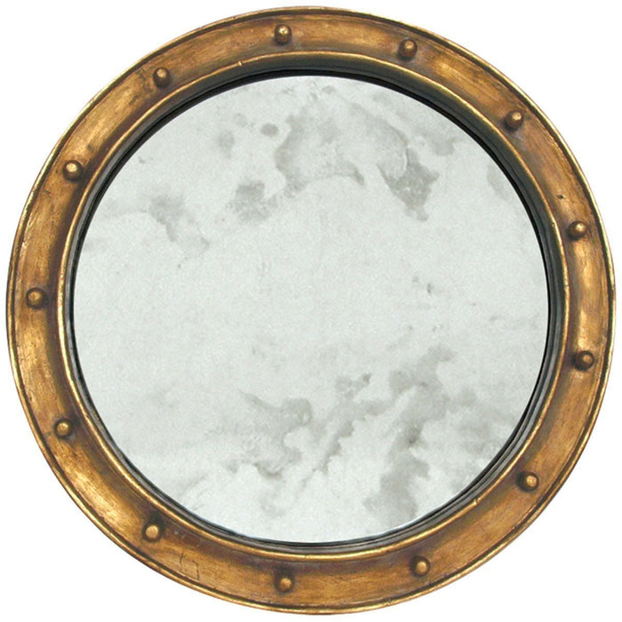 Worlds Away Mirror with Antique Mirror In Center FEDERAL G