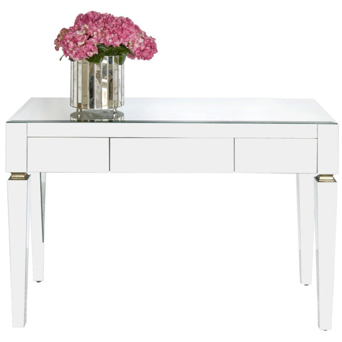 Worlds Away 3-Drawer Desk JACKLYN