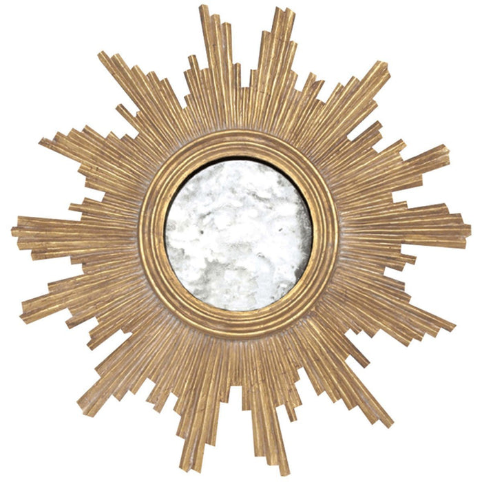 Worlds Away Handcarved Mirror with Antqiue Mirror Inset VERSAILLES G
