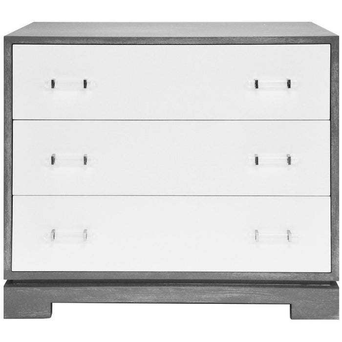 Worlds Away Whitney 3 Drawers Chest