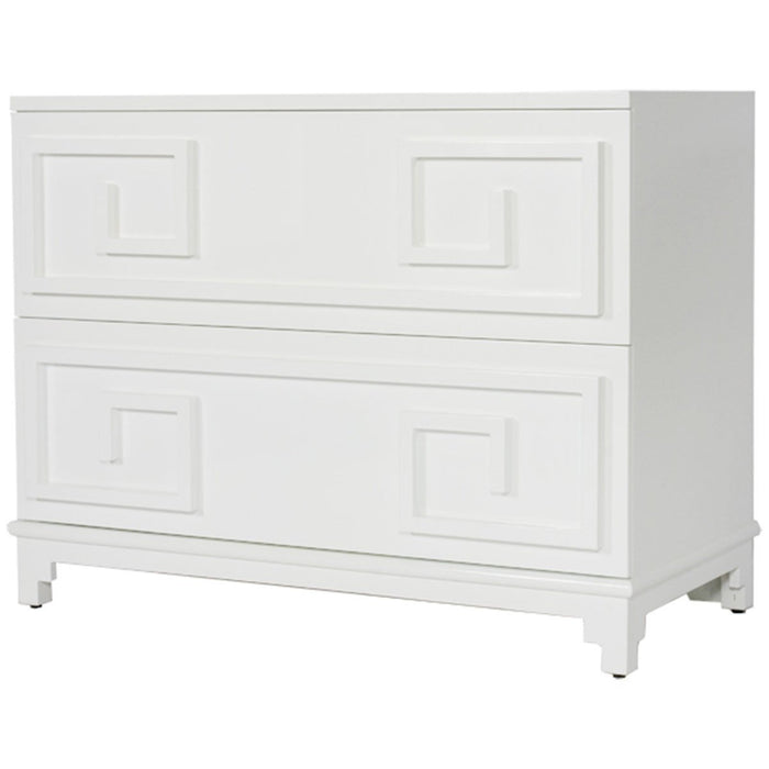 Worlds Away Oriental 2-Drawer Chest