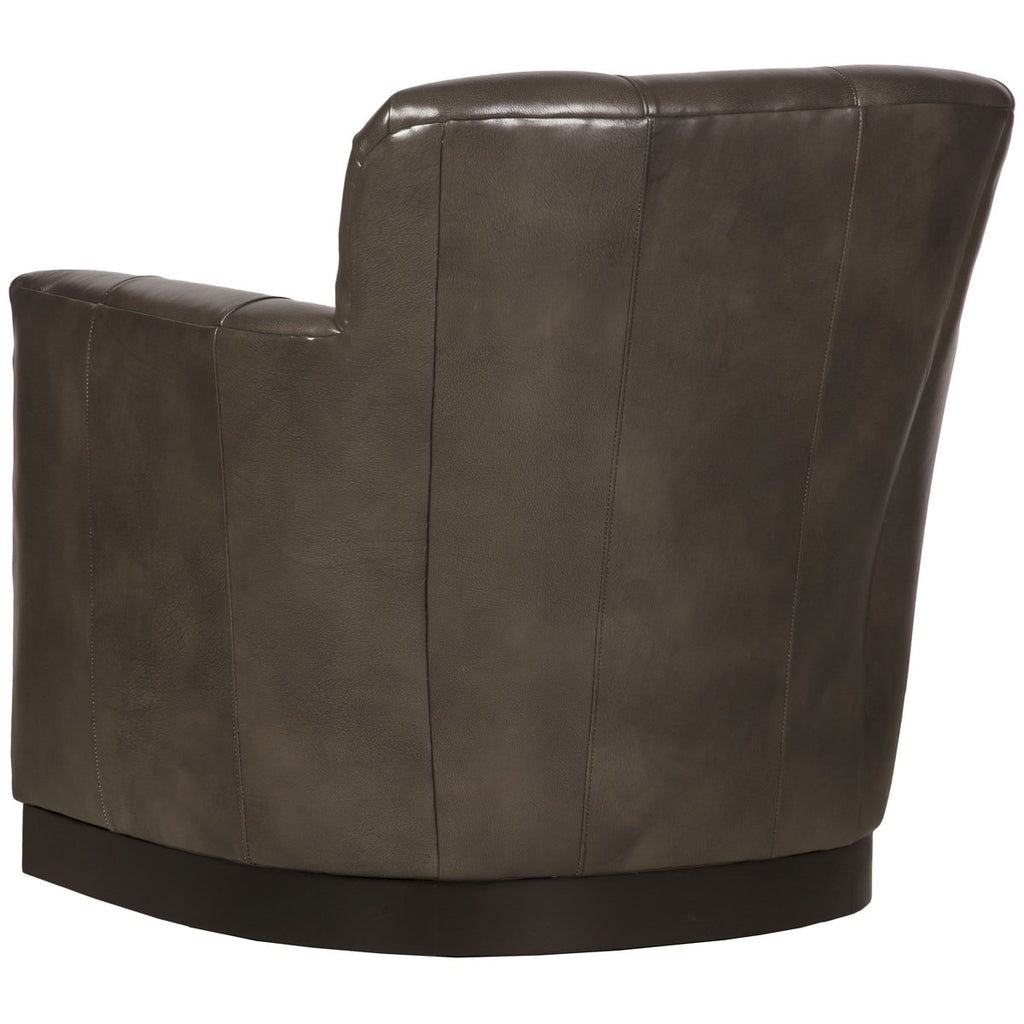 Vanguard Furniture Paris Leather Swivel Chair