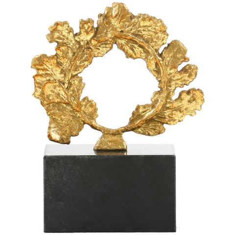 Bungalow 5 Gold Wreath Statue