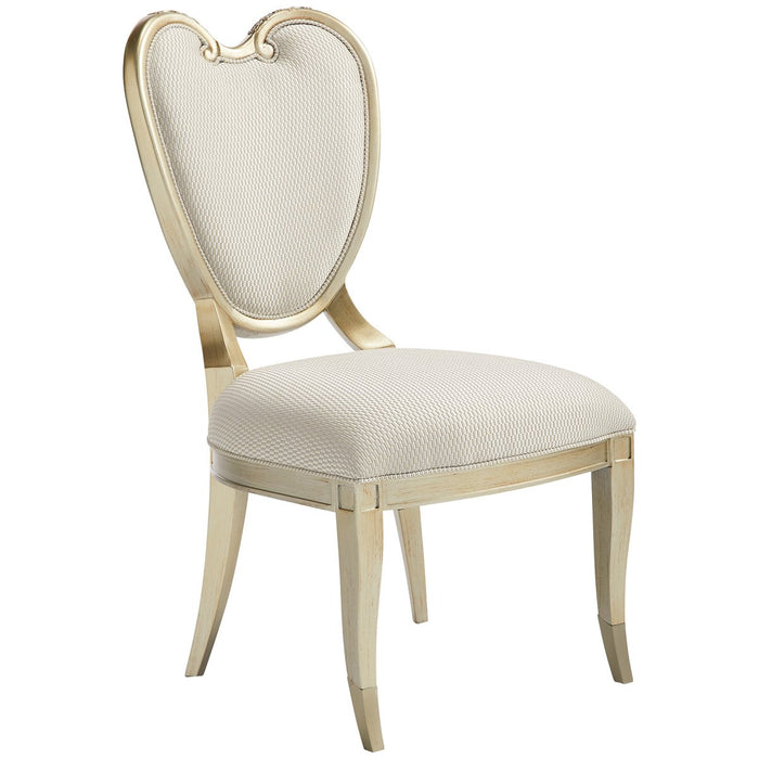 Caracole Fontainebleau Center Side Chair, Set of 2