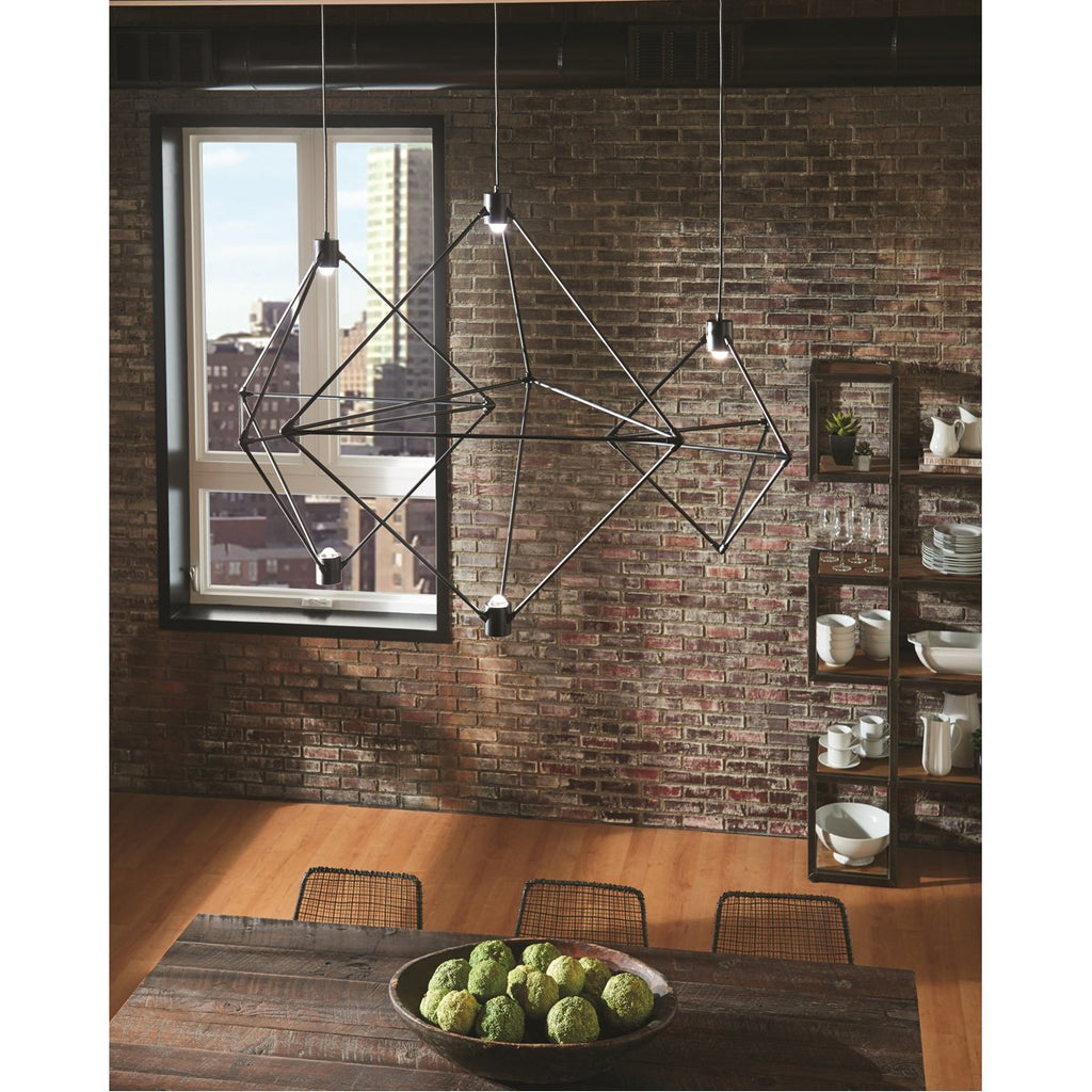 "Tech Lighting LED Candora 19"" Chandelier"