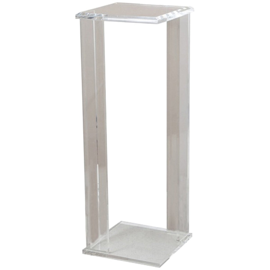 Interlude Home Logan Clear Pedestal