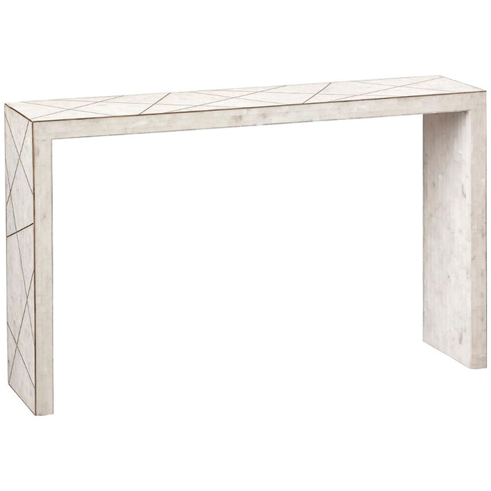 Bungalow 5 Elgin Console Table - White