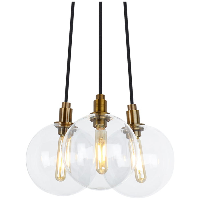 Tech Lighting LED Gambit 3-Light Chandelier