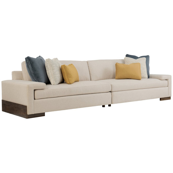 Caracole Upholstery I'M Shelf-Ish 2-Pc Sectional
