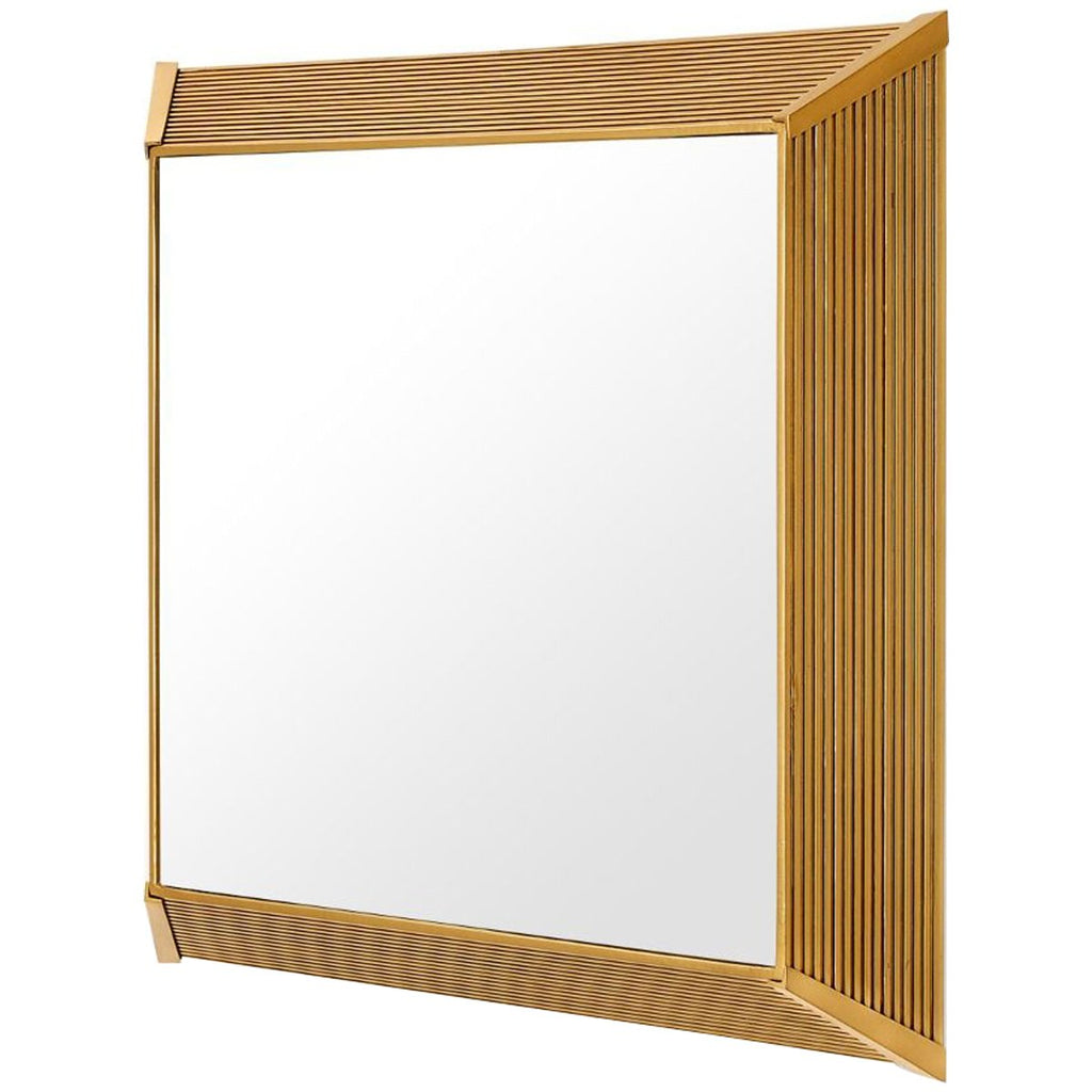 Bungalow 5 Maya Mirror - Antique Brass