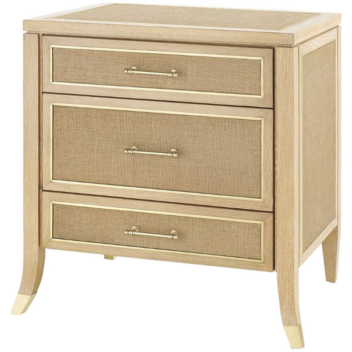 Bungalow 5 Paulina 3-Drawer Side Table - Natural