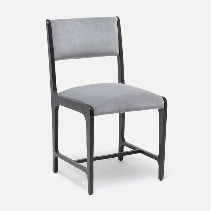 Made Goods Vallois Contemporary Metal Side Chair, Nile Fabric