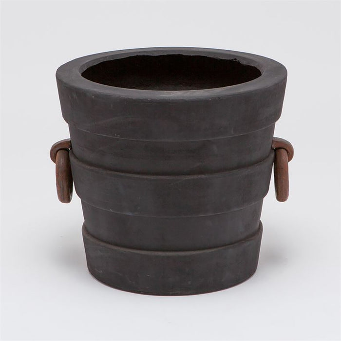 Made Goods Leslie Oversized Outdoor Pots with Decorative Handles