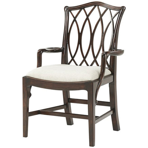 Theodore Alexander The Trellis Dining Armchair Set of 2
