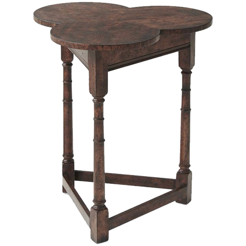 Theodore Alexander Oak Clover Table