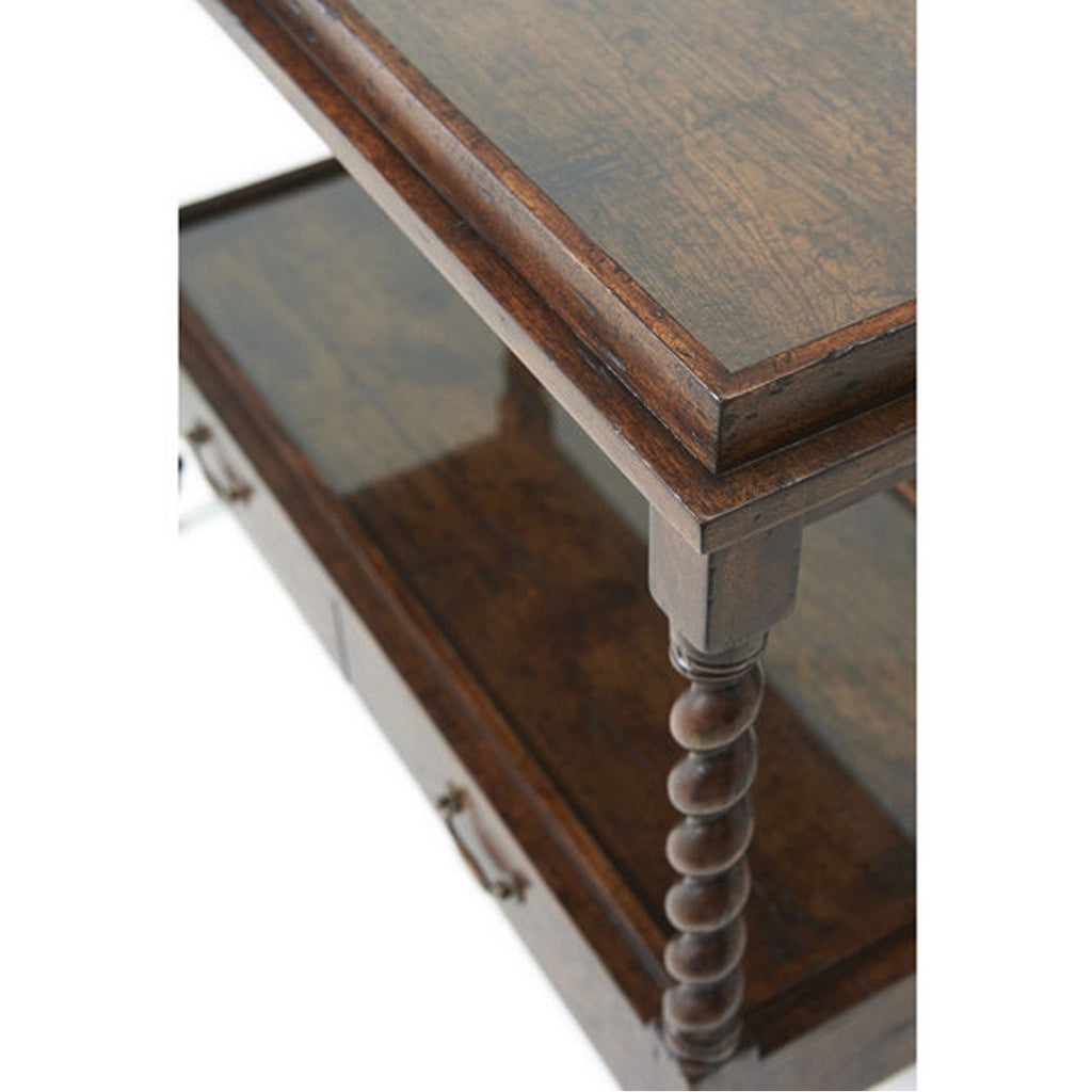 Theodore Alexander Silas' Serving Table
