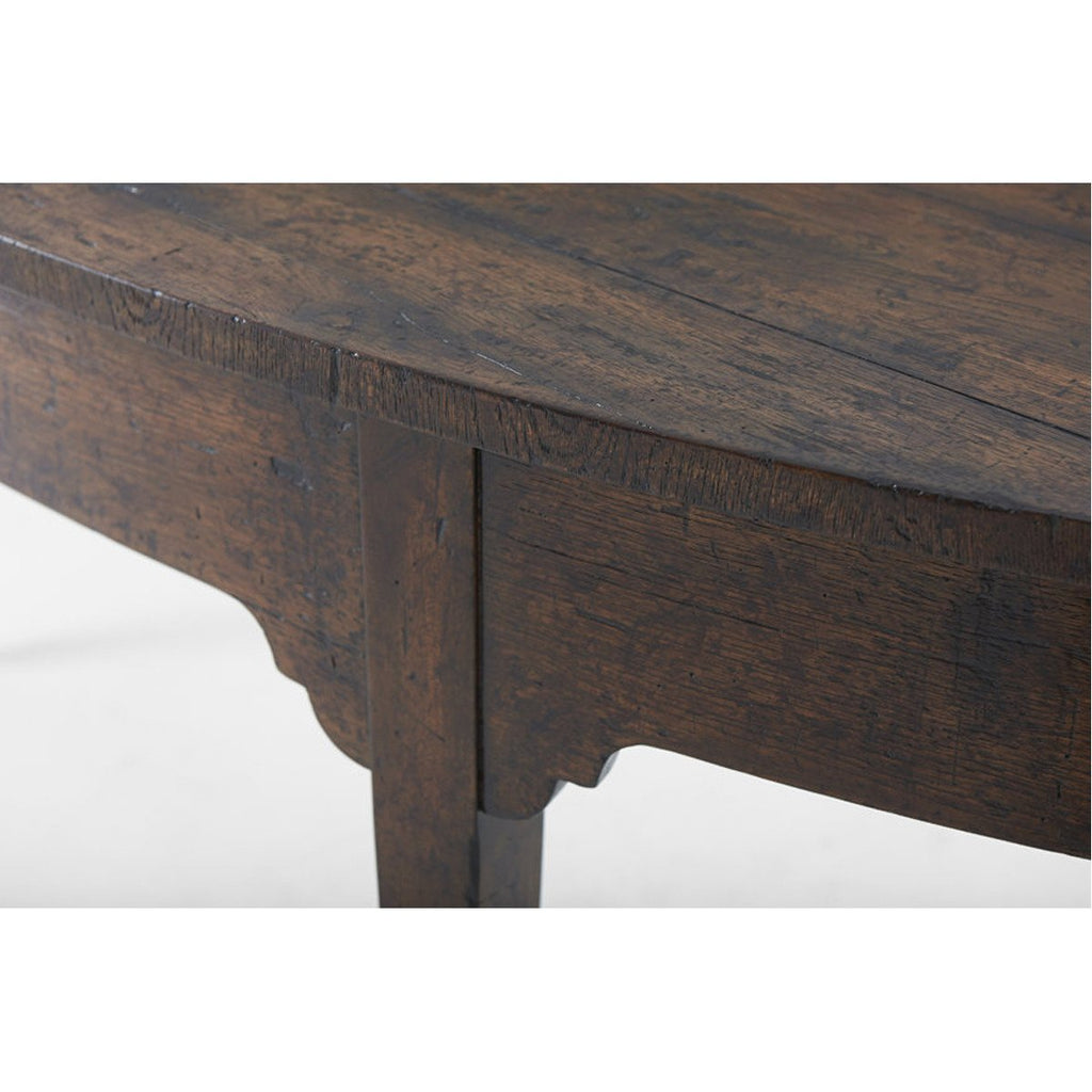 Theodore Alexander Victory Oak West Gate Console Table