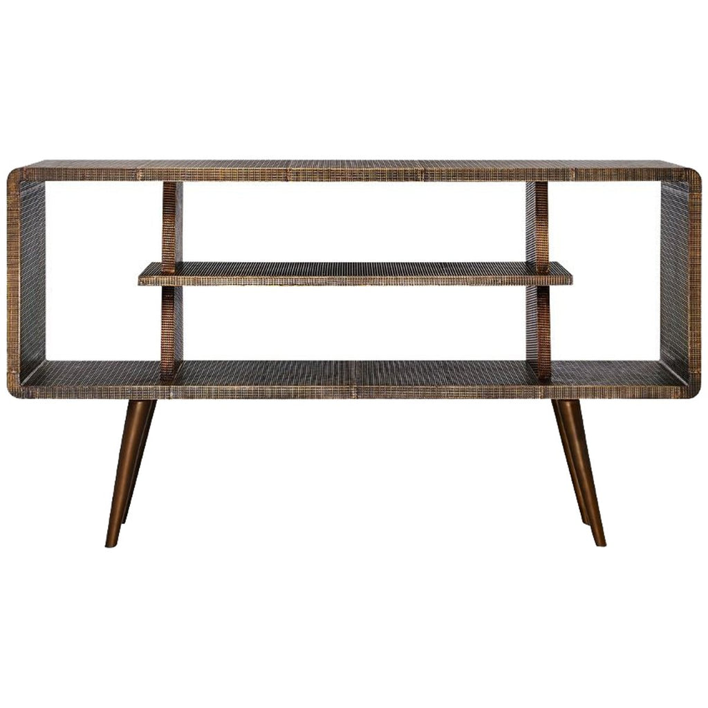 Bungalow 5 Verra Console Table - Antique Brass
