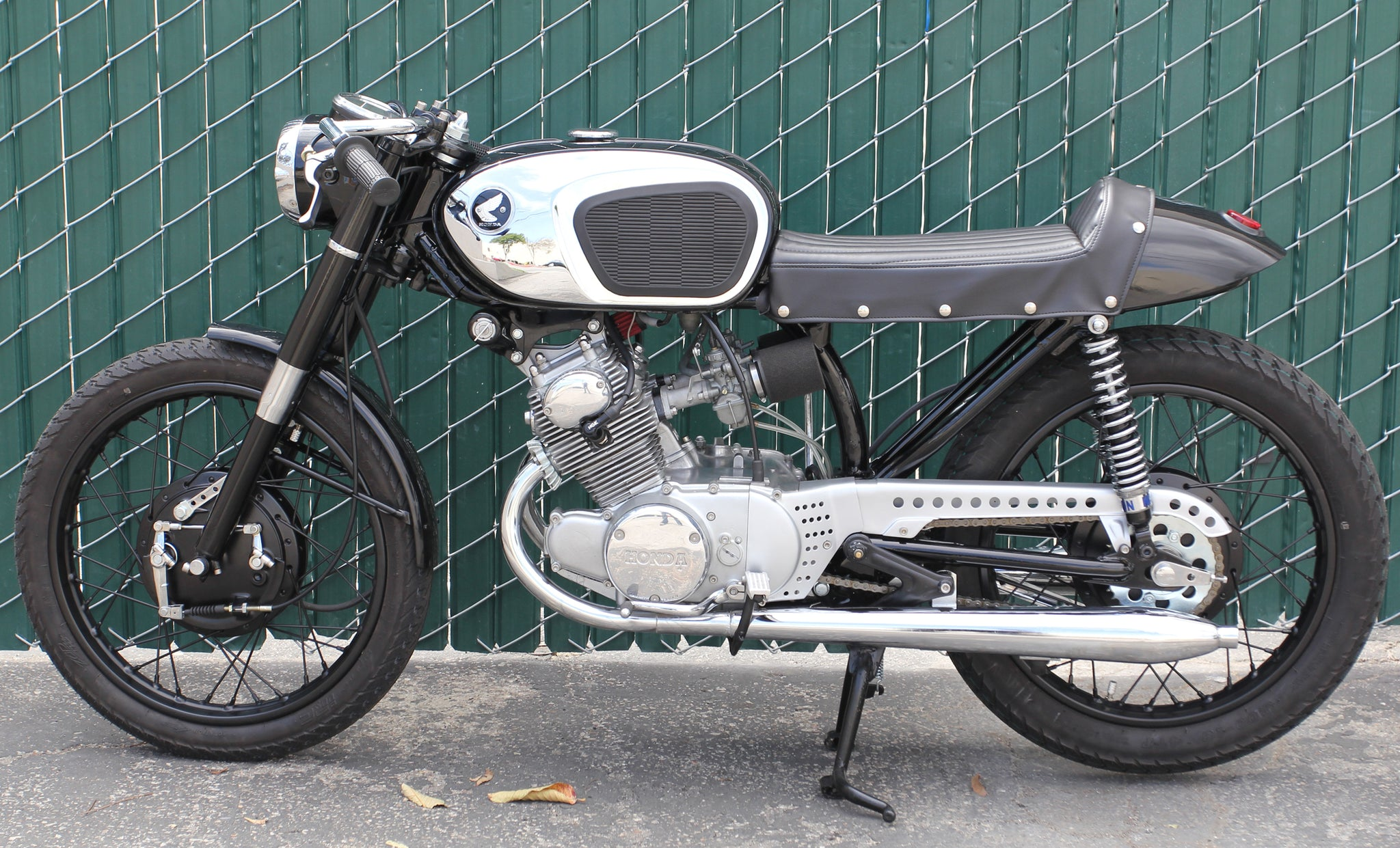 1965 Honda Cb160 Lossa Engineering