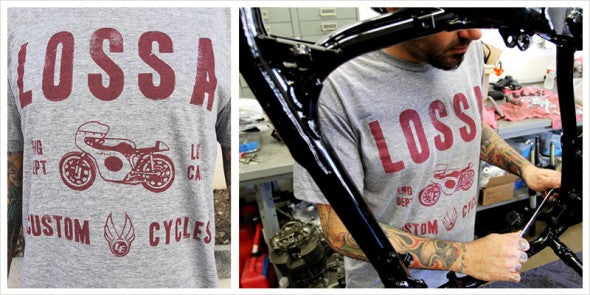 "Lossa ""Dept."" T-shirt"