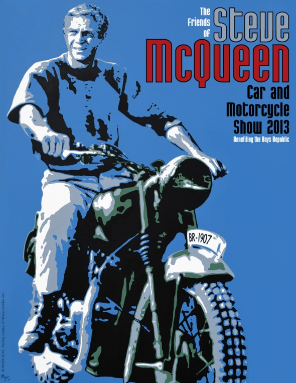 Steve McQueen Car & Motorcycle show 2013