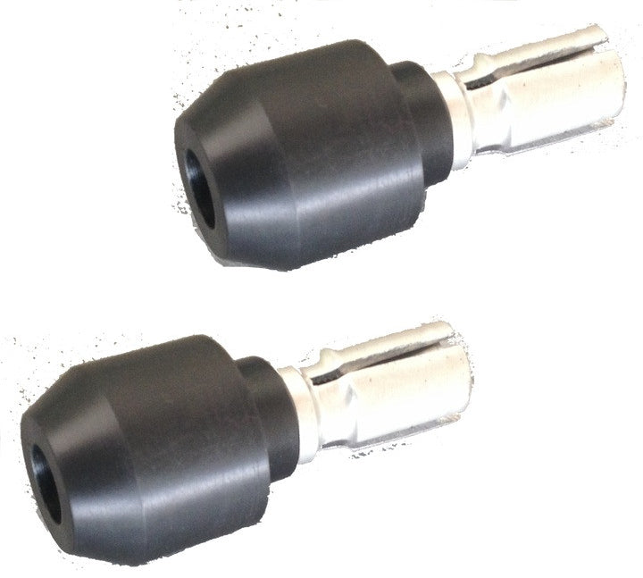 "Lossa 1"" bar end Sliders"