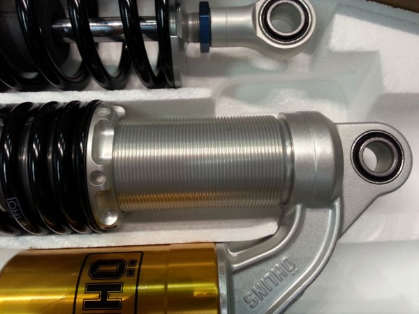 Ohlins Triumph piggy back rear shocks