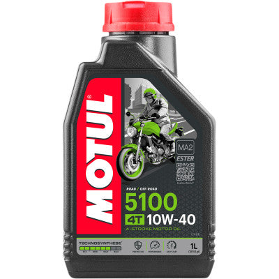 Motul 5100 Synthetic Blend Motor Oil