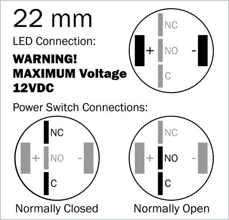 Lossa 19 power button