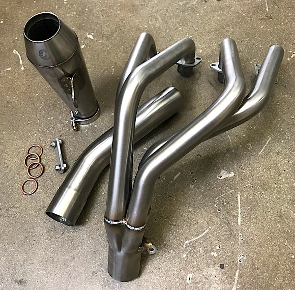 Lossa Brand 4 into 1 exhaust that fits Honda CB500 / CB550