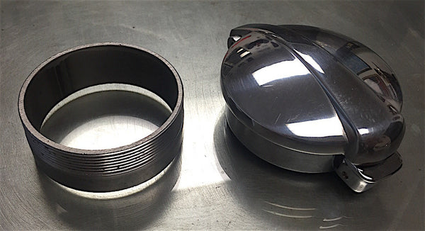 Lossa Monza weld in custom gas cap