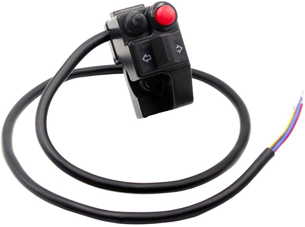 Lossa lights/signal/ horn switch aluminum
