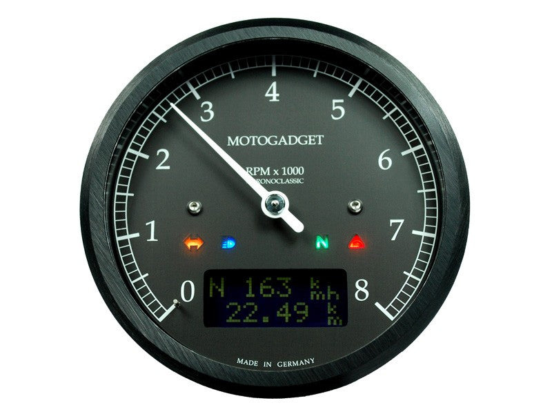 Motogadget chronoclassic Tach dark edition