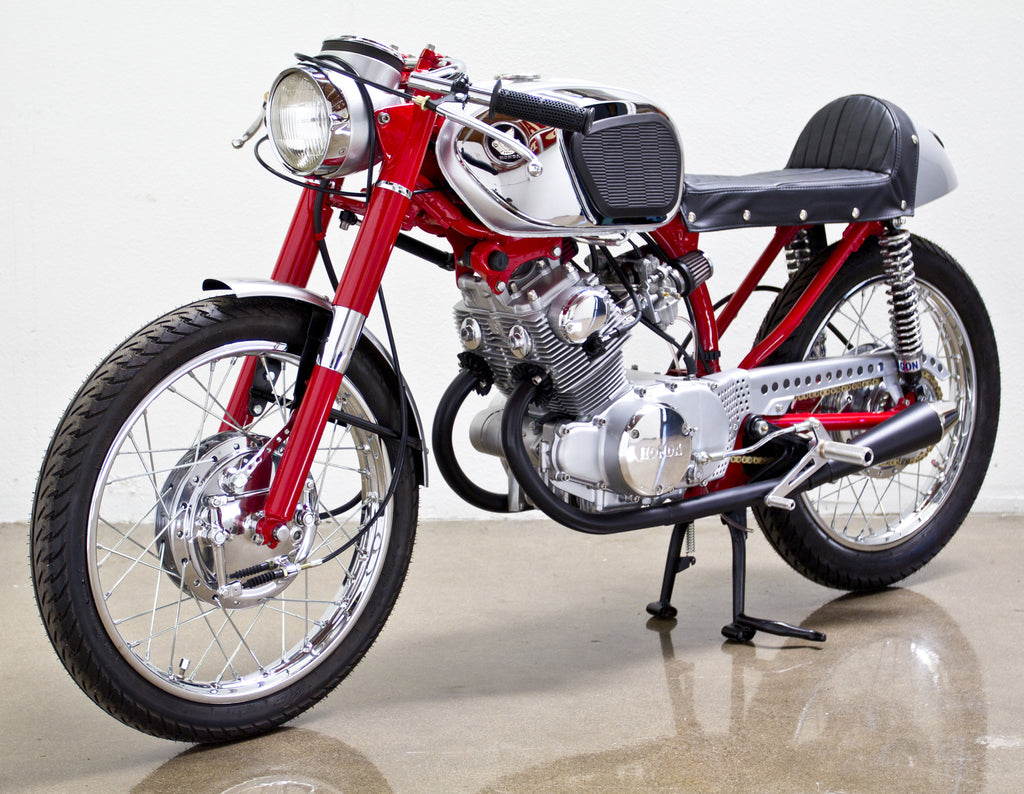 cafe racer kit that fits honda cb160's – lossa engineering