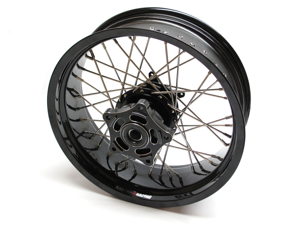 Canyon Motorcycles TT Custom Wide Rear Wheel Kit