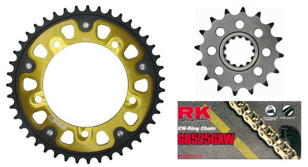 Supersprox sprockets & chain kits for Triumph