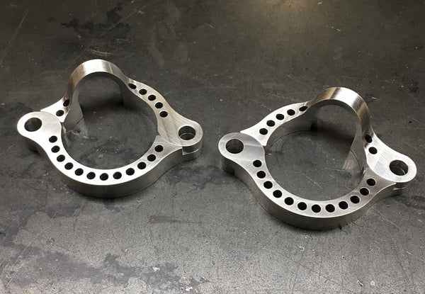 Speedy Siegl Racing 16+ Triumph exhaust flanges