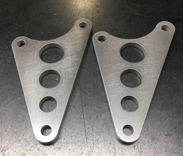 Speedy Siegl Racing 16+ Triumph headlight brackets