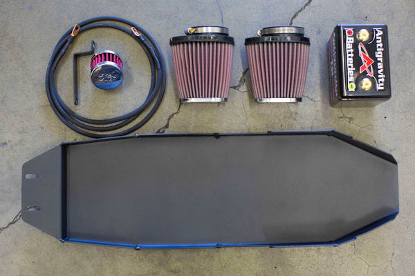 Iron Cobra's Triumph Lay Down Battery Box Kit