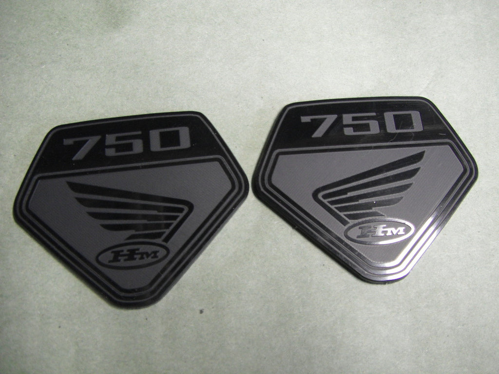 CB750 side cover emblems