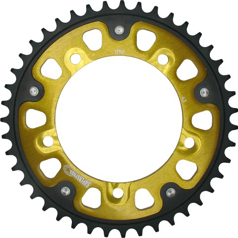 Supersprox rear sprocket for Triumph