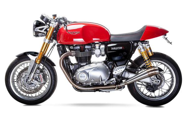 2016-up Triumph Thruxton R British Customs GP Exhaust