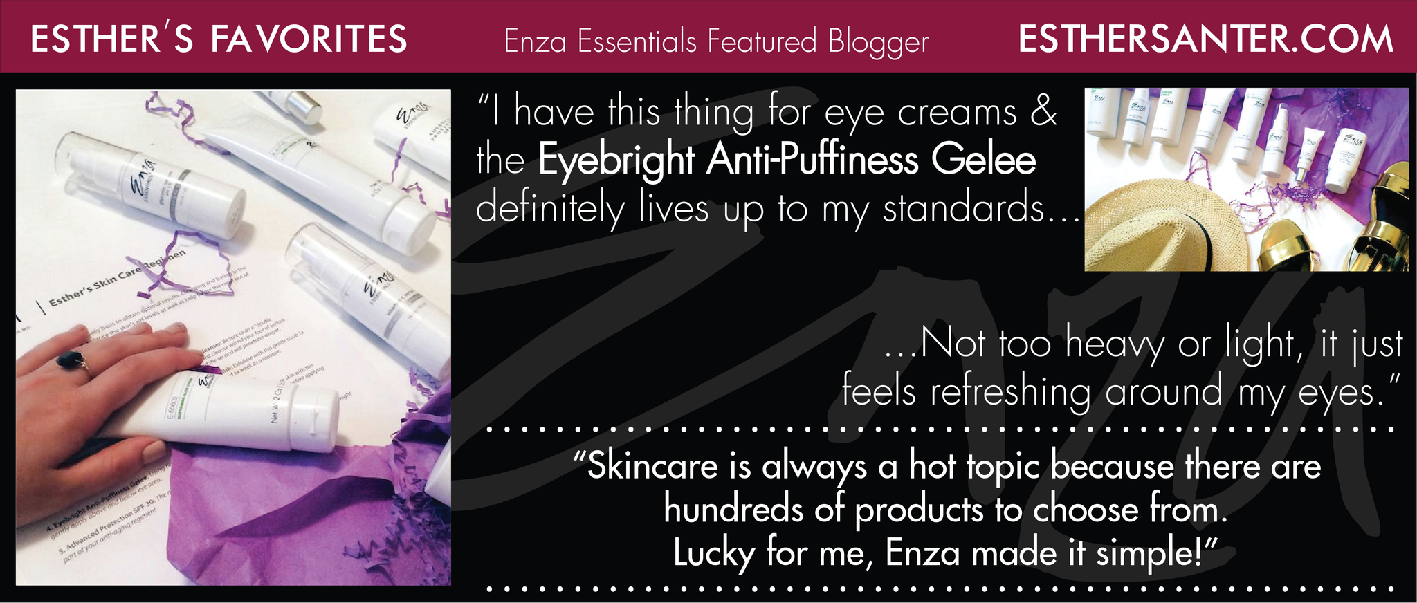 Esther Santer Enza Essentials Review