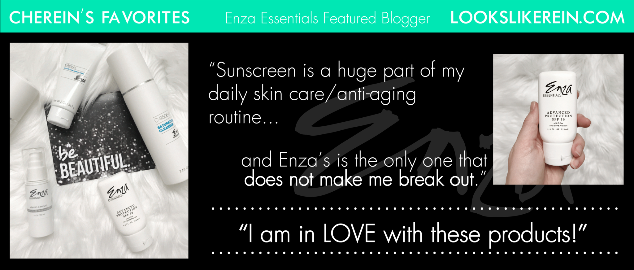 Looks Like Rein Cherein's Enza Essentials Review